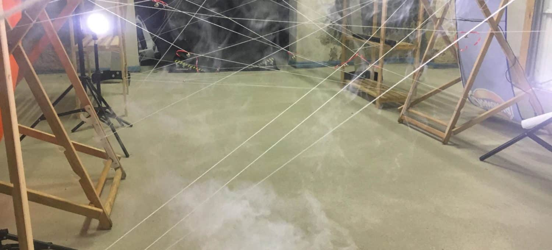 Bindfaden Labyrinth selbst bauen