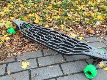 Carbon Longboard - Gridboard