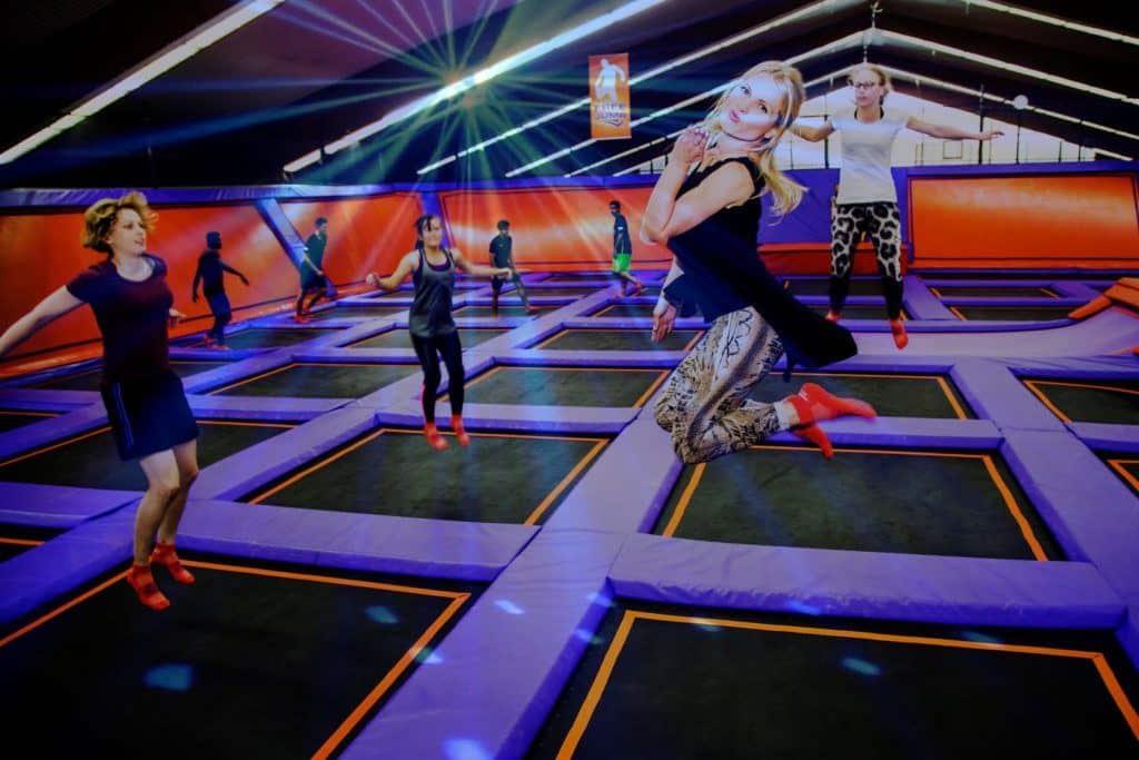 Skyrobics Trampolin Fitness