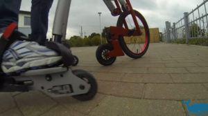 AeYo Skatebike, schon sonderbar.