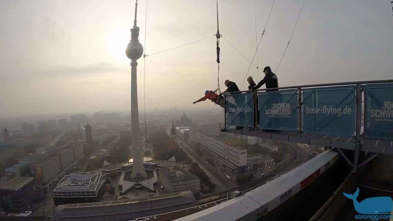 Ausprobiert: Base Flying in Berlin