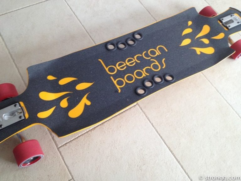 Recycletes Longboard