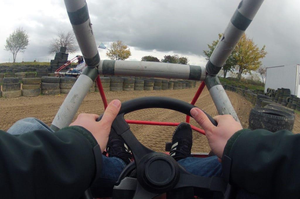 Cross Kart fahren