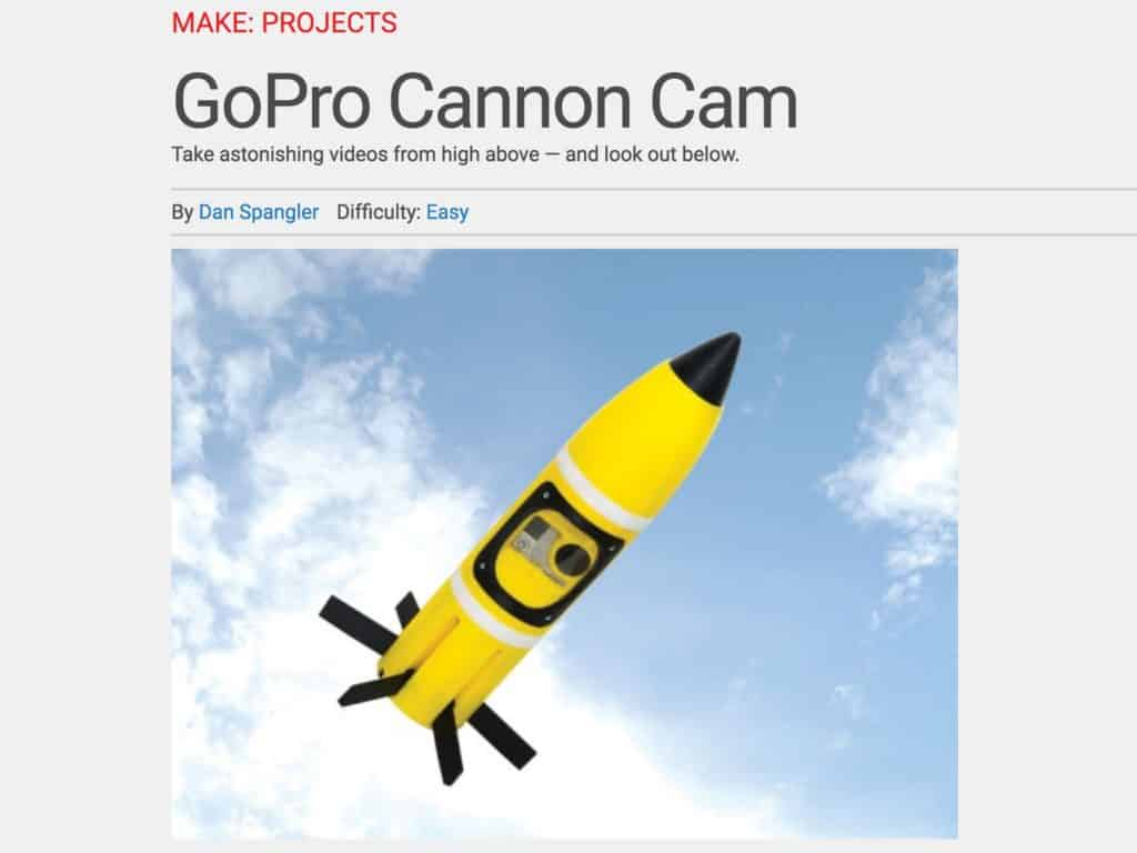 GoPro Cannon Cam