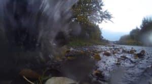 Puddle Jumping, trotz Regenwetter aktiv