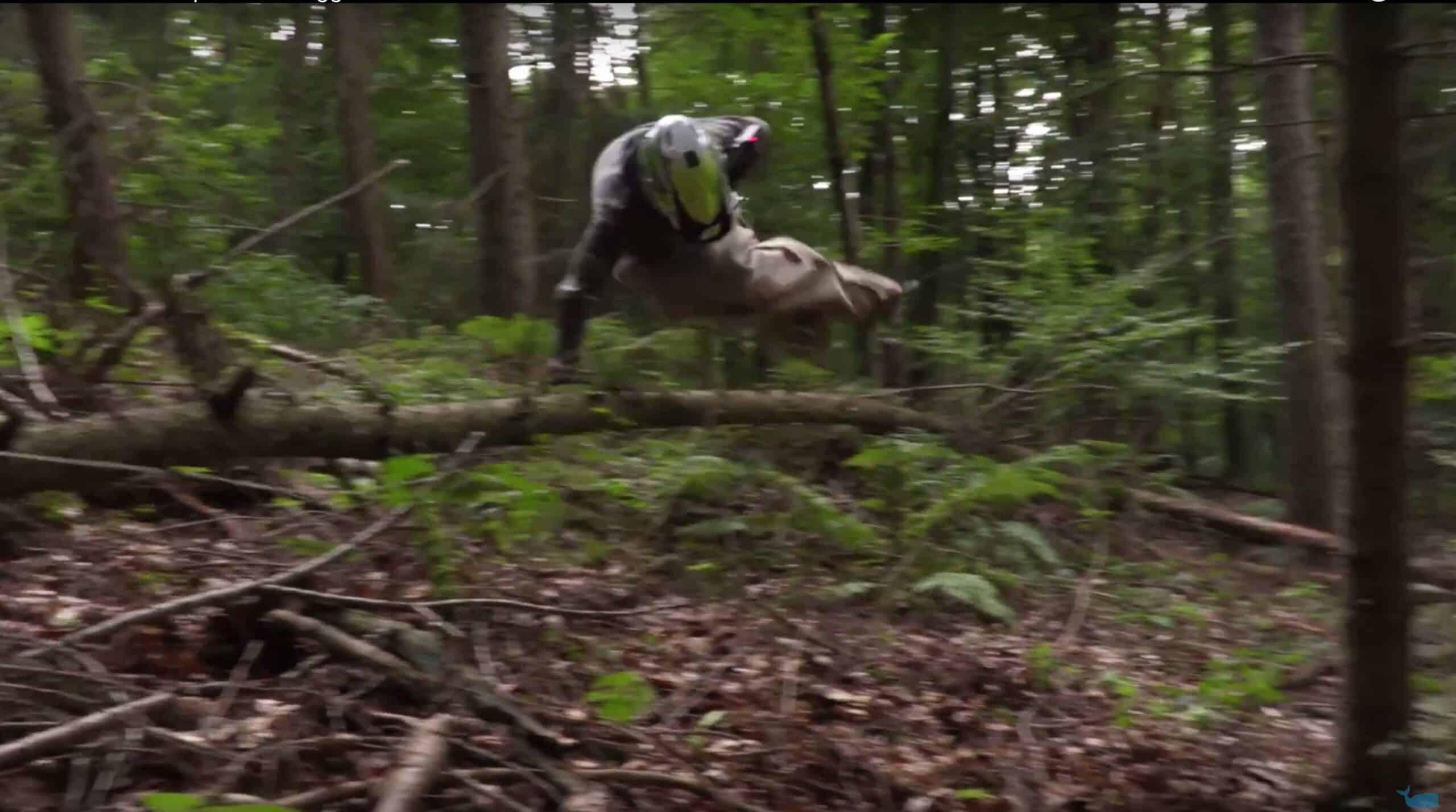Downhill Sackhüpfen