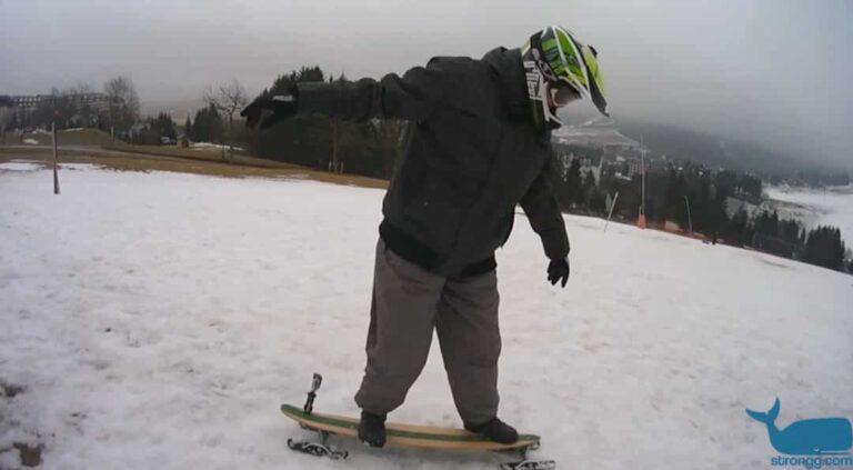 Test des Snowskates von Fuse