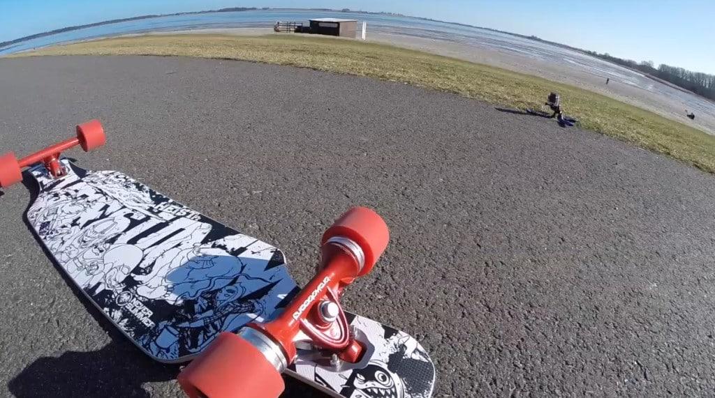 Bremse für Longboards