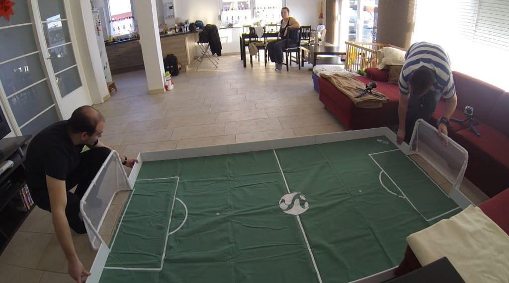 Trick Kick indoor Fußballspiel