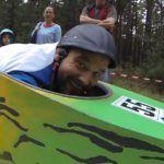 Downhill in einer Kiste
