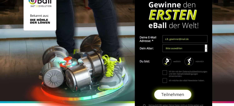 eBall 360 Scooter