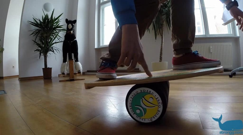 Der Balance Trainer Indoboard im Test