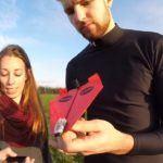 Fernsteuerung für Papierflieger