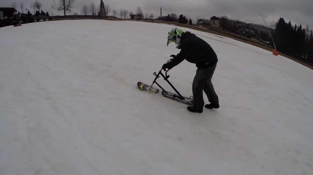 Snow Scooter Test