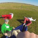Macht richtig viel Spaß: die Menschlicheschleuder