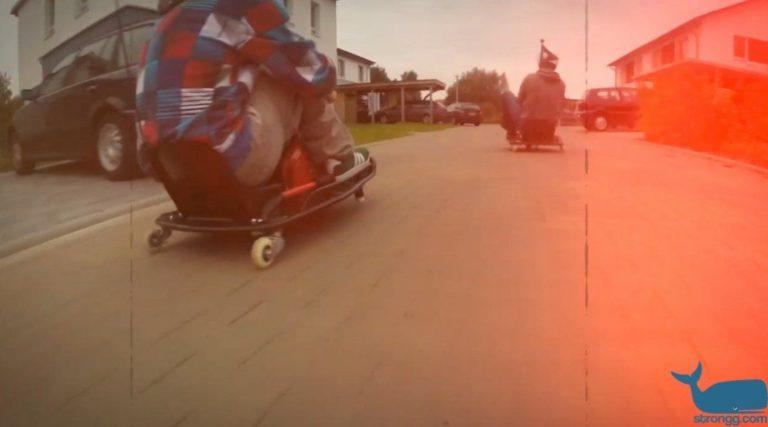 Crazy Cart Drift Track