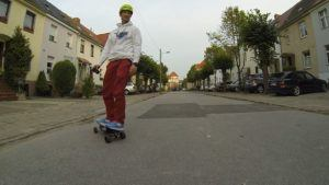 Skateboarding Skateboard, Rollschuhe waren gestern
