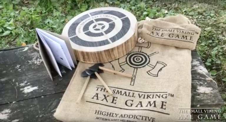 Small Viking Axe Game
